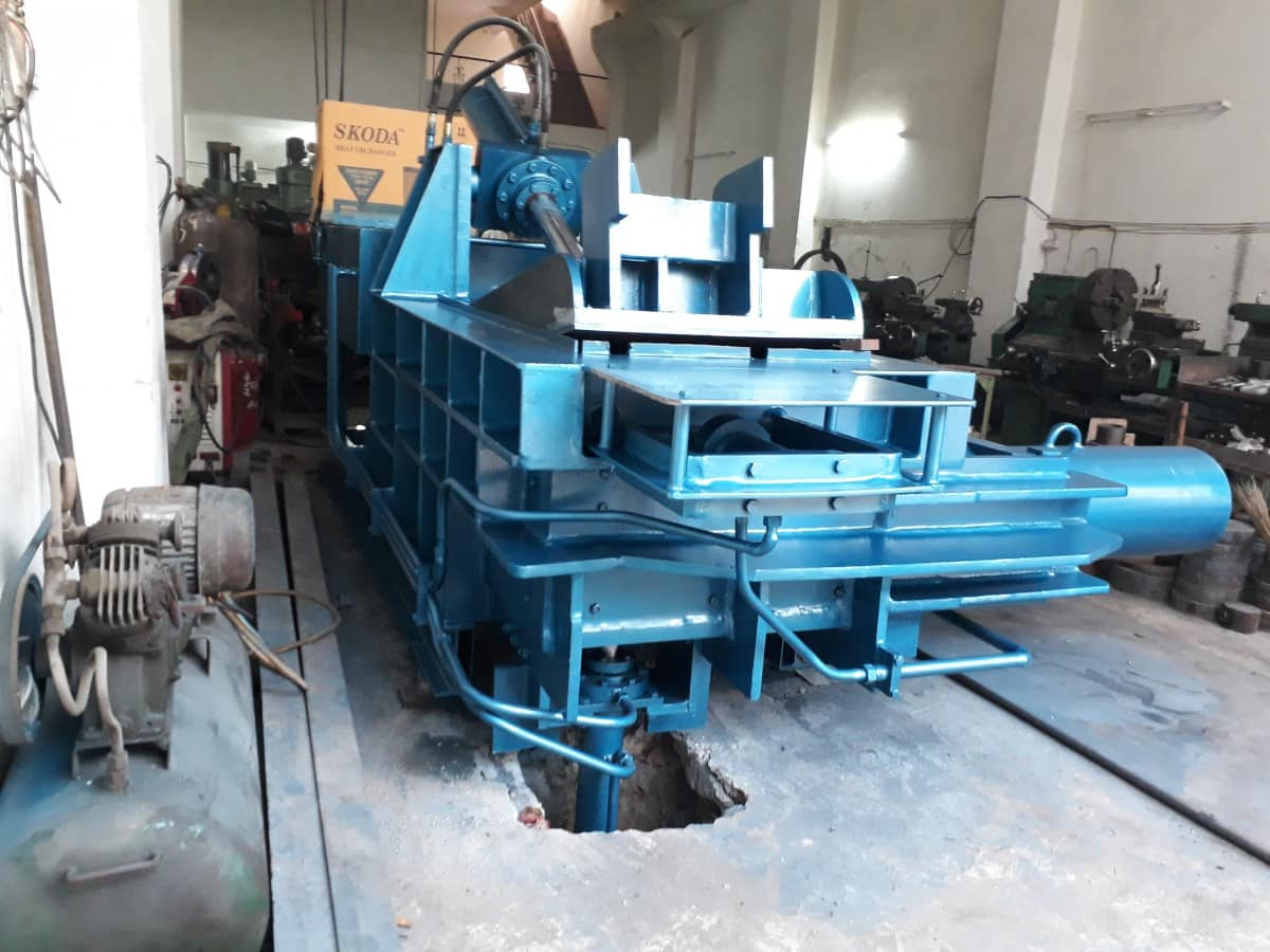 carton baling press machine