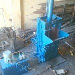 waste pet bottle press machine