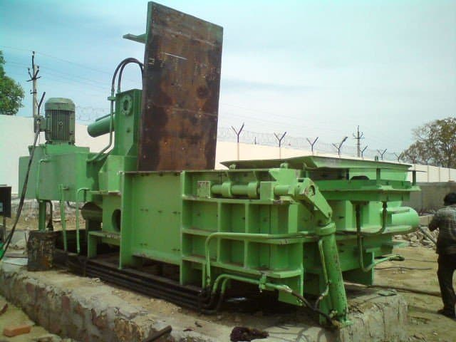 hydraulic waste paper baling press machine