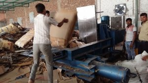 carton baling machine