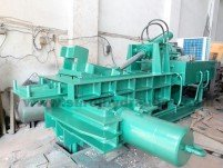 hydraulic scrap processing machine