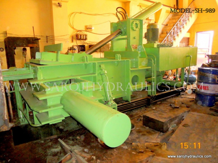 paper bale press machine