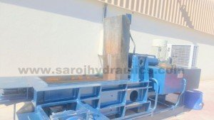 three cylinder hydraulic baling machines