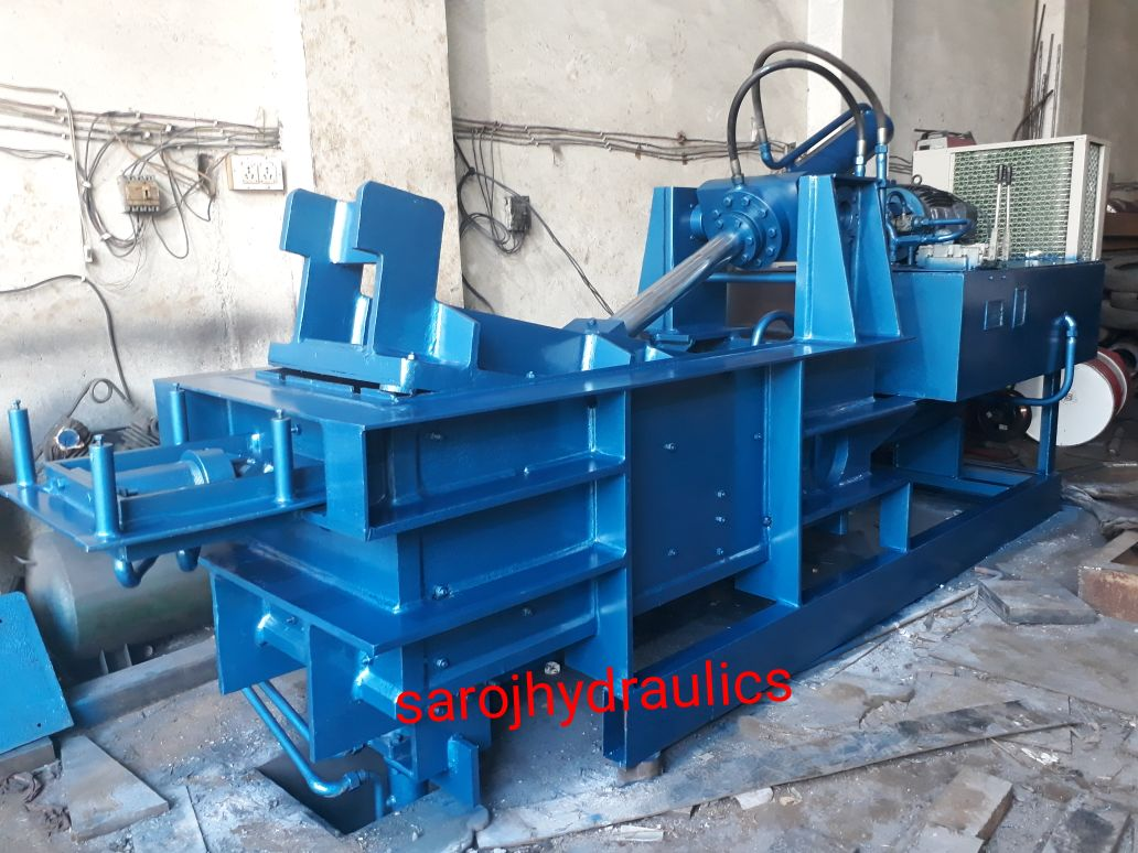 double compression baling press