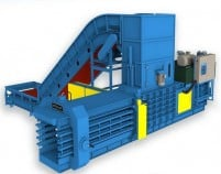 fully automatic paper baler