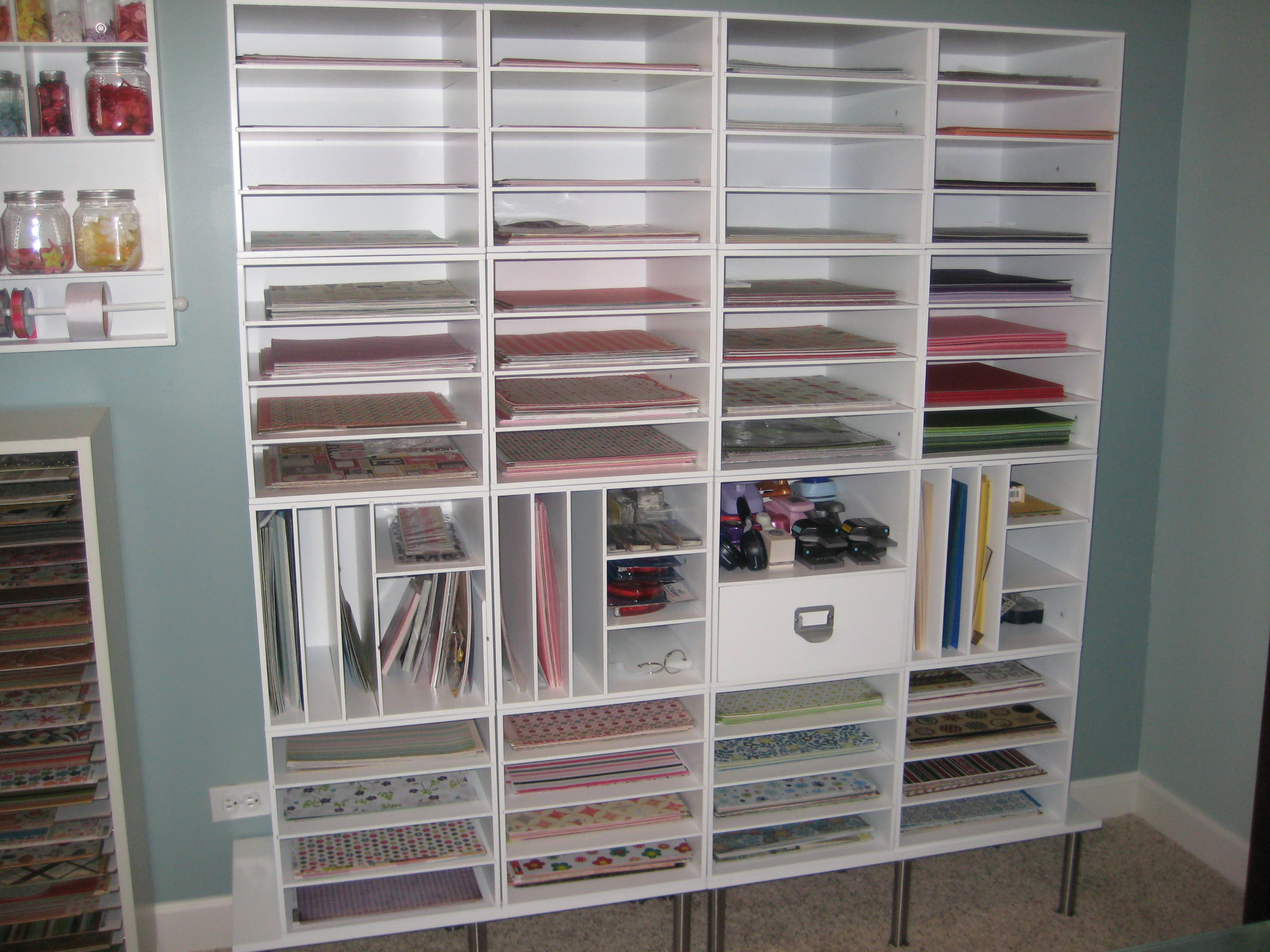 Solution Rangement Papier Scrapbook Paper Storage