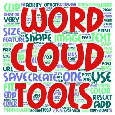 4 tools to create word clouds beside Wordle Scrapbook Campus