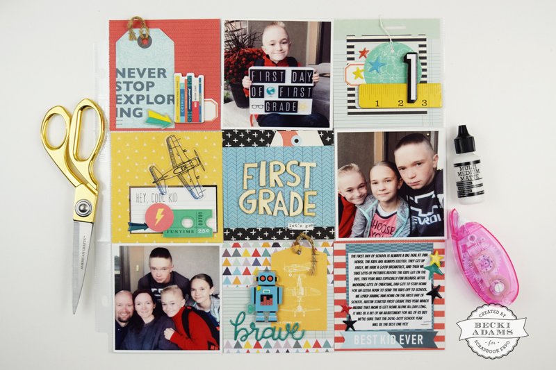 Pocket Page Scrapbooking Process Video - Stamp  Scrapbook EXPO