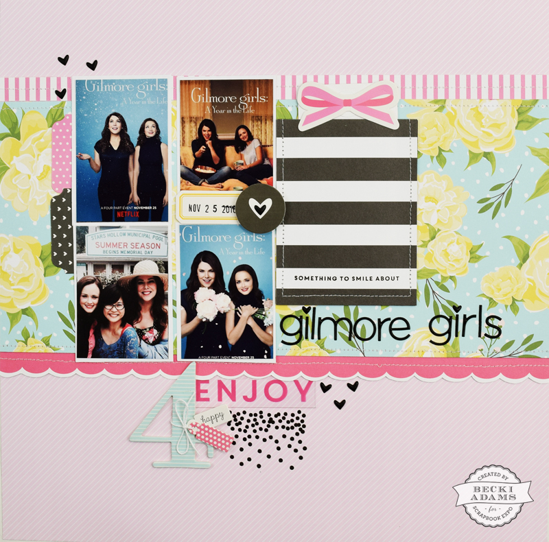 Video Featuring Felicity Jane Kits  Gilmore Girls - Stamp