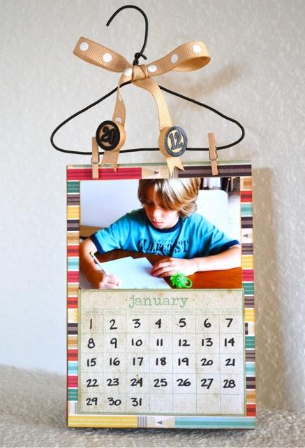 2012 Hanging Calendar