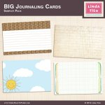 Freebie   Printable 4×6 Journaling Cards