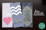Freebie | Printable Bookmarks