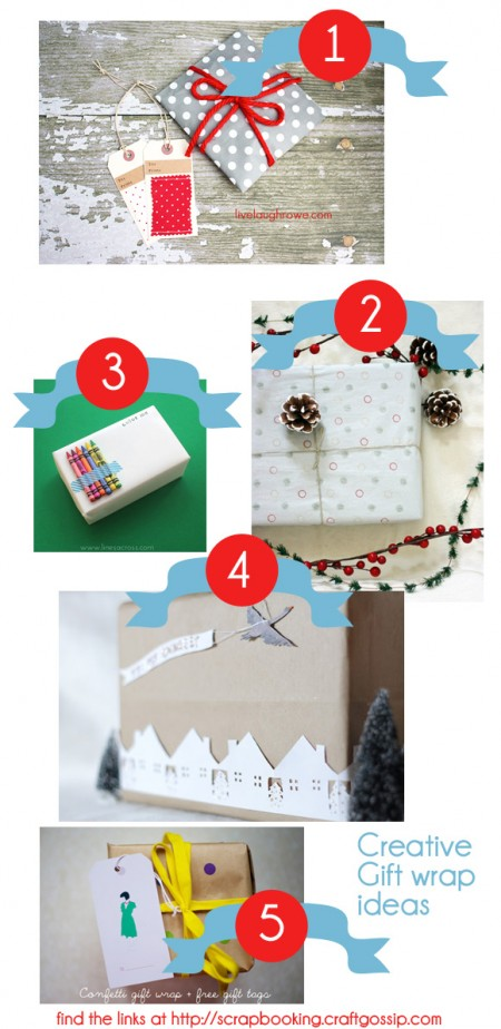 Thursday Round-Up   5 Creative Gift Wrapping Ideas