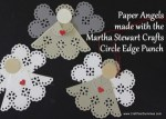 Tutorial | Paper Angel Ornament from a Paper Doily