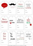 Freebie | Printable Gift Tags from Lara's Vintage – perfect for handmade gifts!