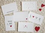 Freebie | Printable Love Note Cards from Jones Design Company