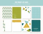 Freebie | Project Life Journaling Cards from Kimberly Church Designs