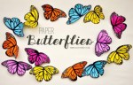 Tutorial | Paper Butterflies by Agus Younet