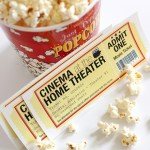 Freebie | Printable Movie Night Tickets