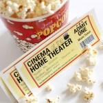 Freebie | Printable Movie Night Tickets