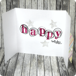 Tuesday Tutorial | Stamped Doodle Birthday Card