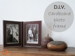Tutorial | DIY Cardboard Photo Frame for Father's Day