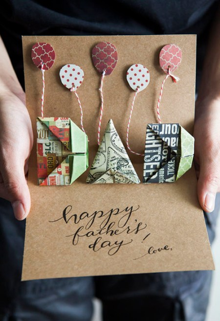 Tutorial - Oh so very pretty father's day card from All Things Paper