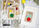 Tutorial & Freebie | DIY Mason Jar Button Tags