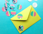 Tutorial | Washi Tape Dot Embellishments