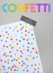 Freebie | Printable Confetti Paper