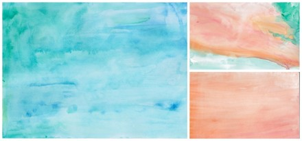 Freebie & Tutorial - Watercolor Papers