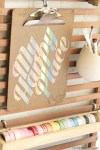 Tutorial | Washi Tape Stickers for Decor or Embellishments