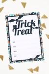 Freebie | Halloween Party Invites