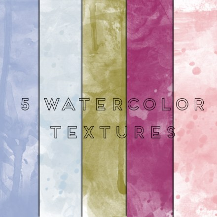 Freebie - Free Watercolor Textures from Eye of Style