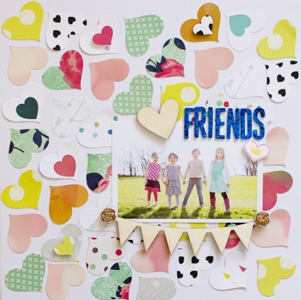 Inspiration du Jour - Friends by A2Kate