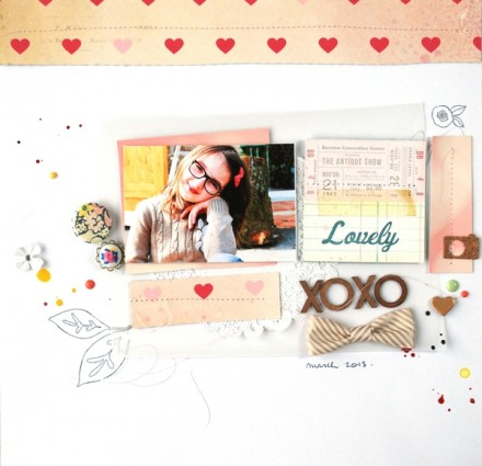 Inspiration du Jour - Lovely by Gaelle Fauglas