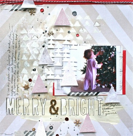 Inspiration du Jour - Merry & bright by soaphousemama