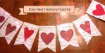 Tutorial | Heart Garland for Valentine's Day