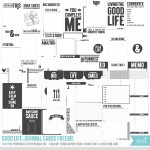Freebie | Mega Pack of 90 Printable Journaling Cards
