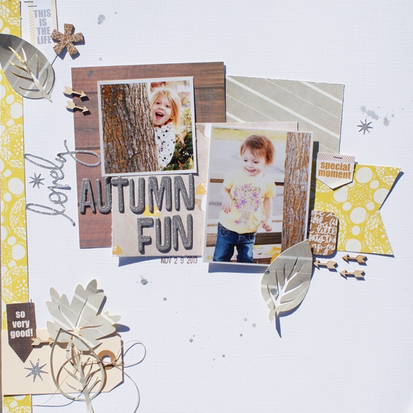 Inspiration du Jour - Lovely Autumn Fun by Michelle Wedertz