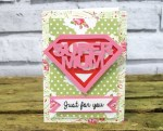 Tutorial | Make A Mother's Day Card with Removable Badge