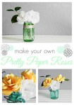Tutorial | Make Paper Roses With Your Silhouette