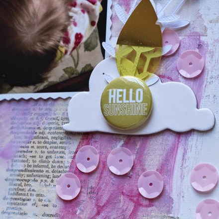Tutorial - Mixed Media Background by Ashley Calder