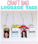 Tutorial | Luggage Tags for Your Craft Bag