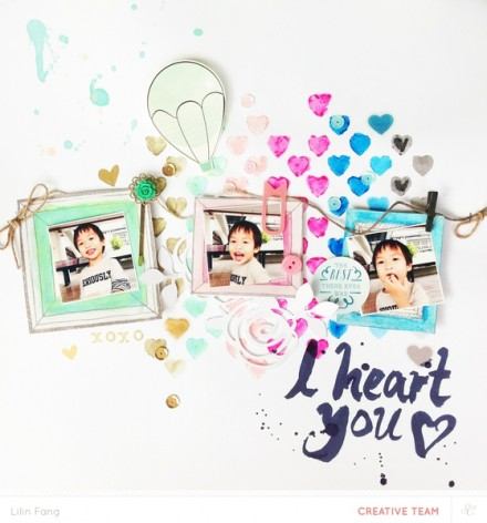 Inspiration du Jour - I heart You by lilinfang