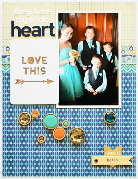 Inspiration du Jour - My Whole Heart by Leanne Allinson