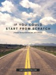 Start Over Your Scrapbooking From Scratch