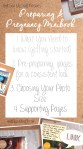 Show & Tell |Preparing a Pregnancy Minibook