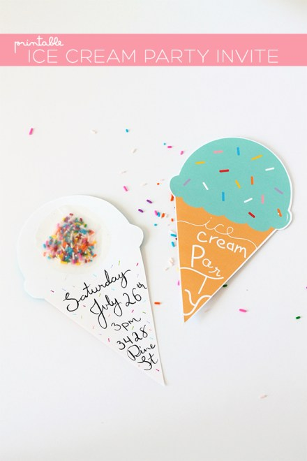 freebie DIY-ice-cream-party-invite from Squirrelly Minds