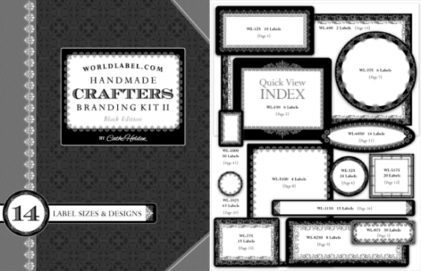 Freebie - Crafter's Branding Pack of Labels from World Label
